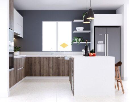 Tủ bếp nên dùng gỗ công nghiệp hay gỗ tự nhiên 13