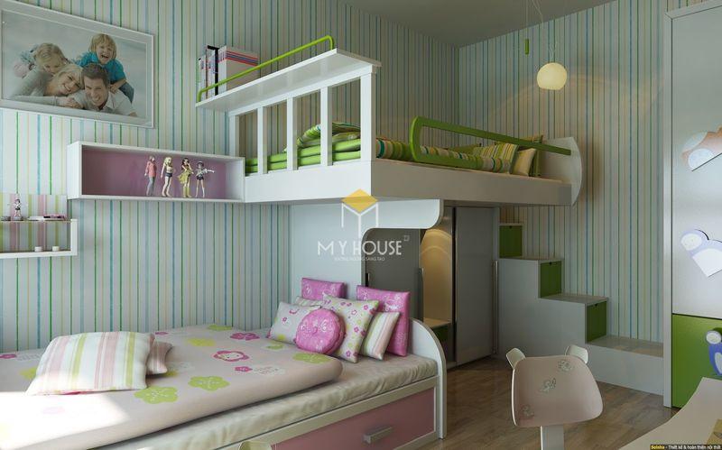 Xưởng sản xuất giường tầng - Mẫu 05