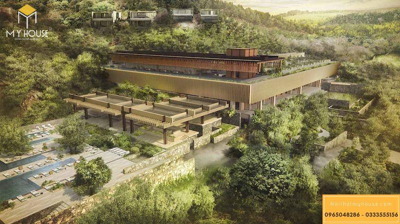 Báo giá thiết kế cảnh quan resort 3