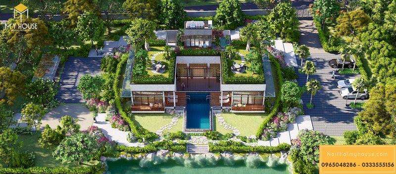Báo giá thiết kế cảnh quan resort - 10