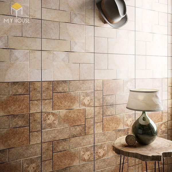 Map gạch ốp tường - nhiều kiểu dáng, kích thước, màu sắc, họa tiết
