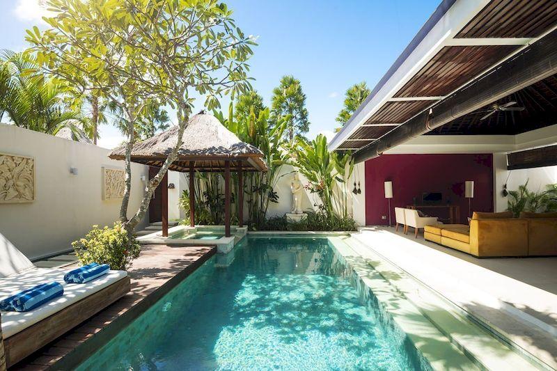 Mẫu biệt thự nhà vườn có bể bơi - Mẫu 23