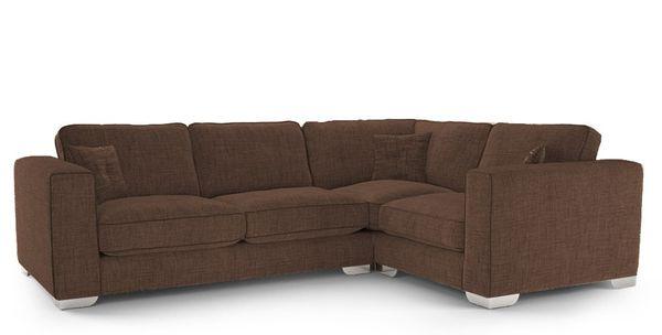 Mẫu sofa nỉ màu nâu - 15
