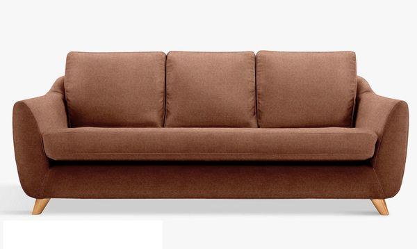 Mẫu sofa nỉ màu nâu - 16