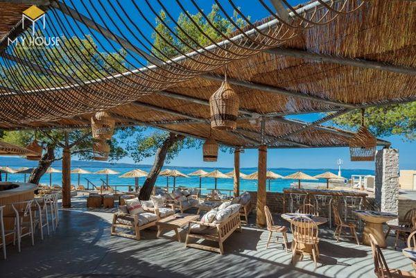 Mẫu thiết kế resort biển đẹp, không gian mở 03