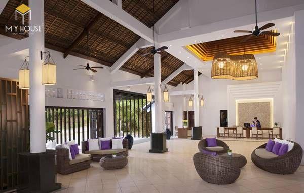 Mẫu thiết kế resort biển đẹp, không gian mở 01