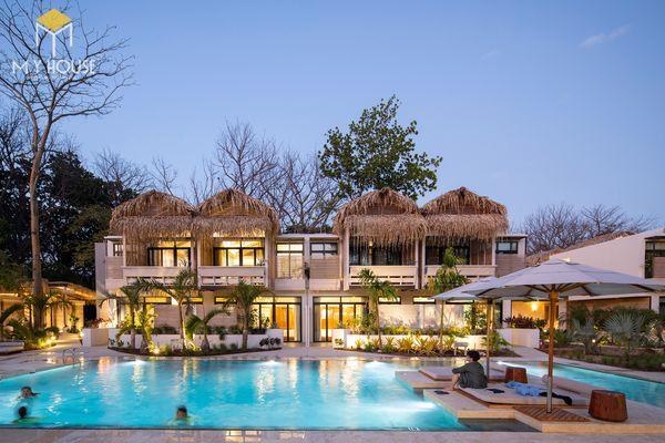 Mẫu thiết kế resort biển đẹp sang trọng 04
